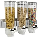 Home Basics Wall Mounted Cereal Dispensers, Double or Triple