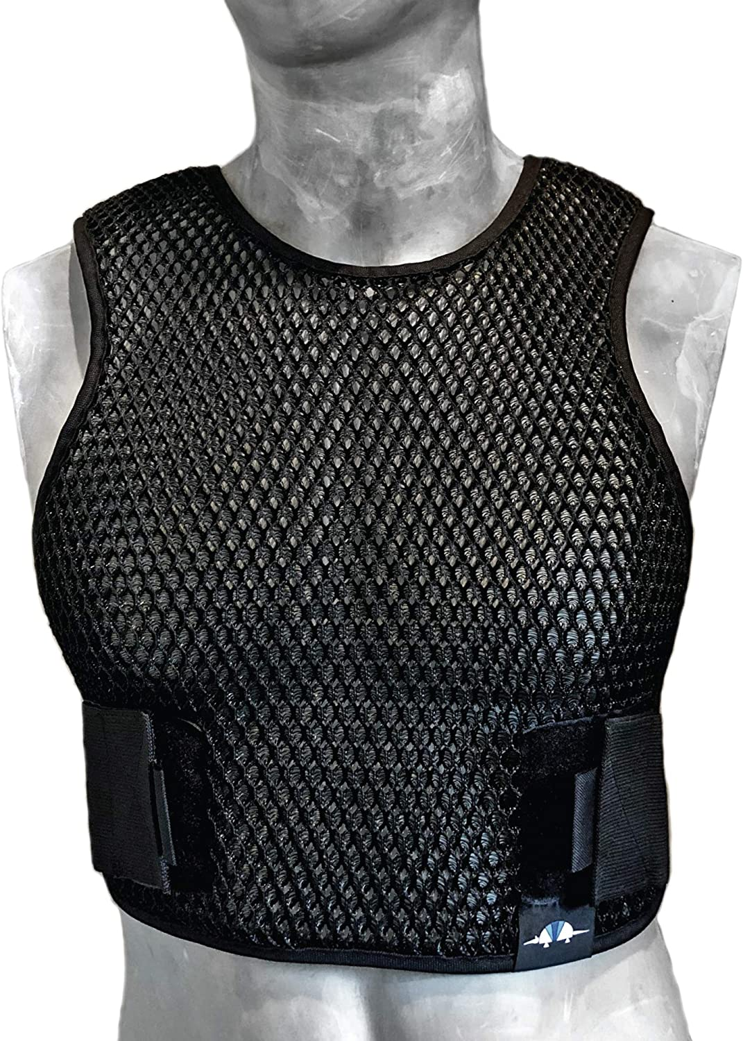 Armadillo Dry Cooling Vest - Body Armor Ventilation for Police, Military, Airsoft, Motorcycle, Paintball & Outdoor Games. Increase Air Flow Under Tactical Gear and Chest Rig/Ballistic Carrier