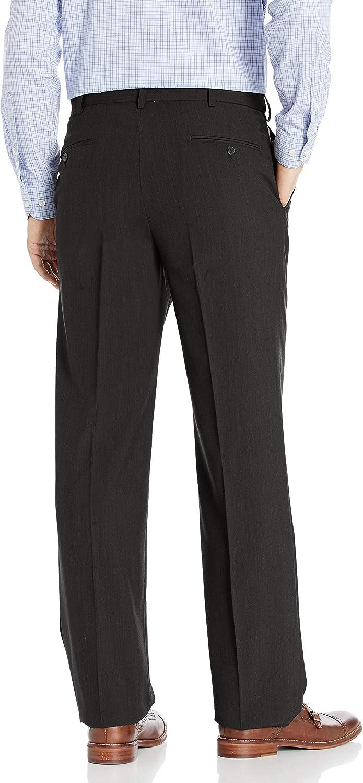 Palm Beach Mens Expander Plain Dress Pant Washable Suit Pants Separate Cr Grey Bright LzJXf