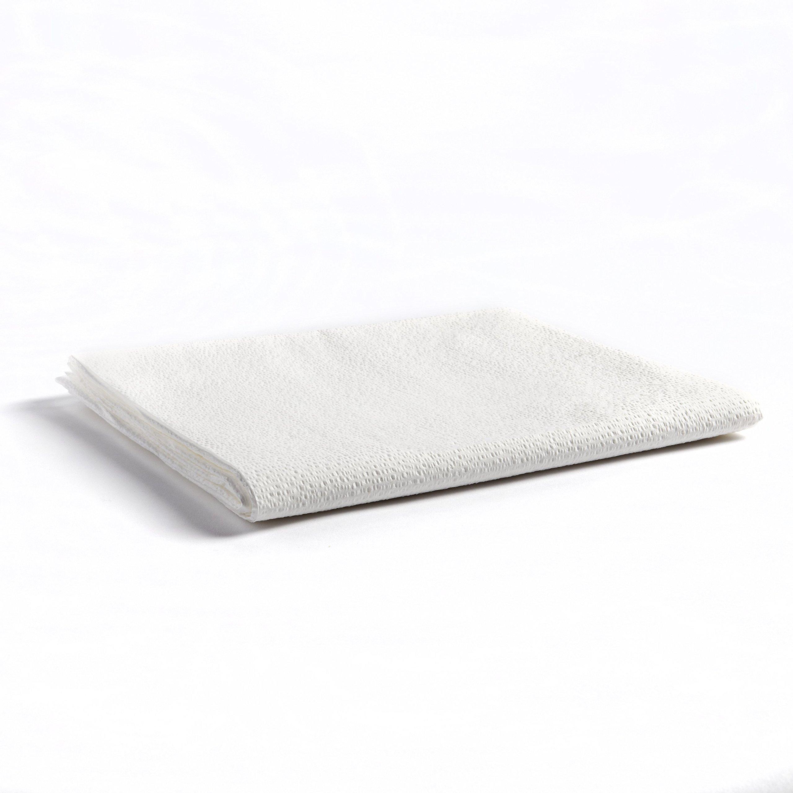 Graham Beauty Spa Essentials, 43656, Drape Sheet, Tissue, White, Shape,, (Pack of 50)
