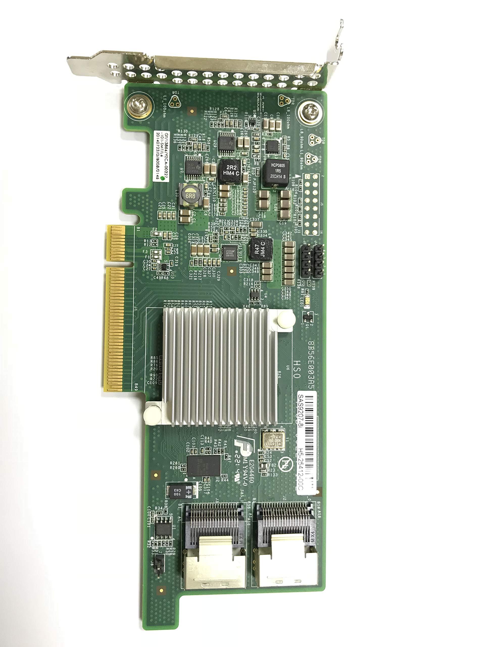 MFU SAS 9207-8i 8-Port 6Gb/s SAS+SATA to PCI Express 2.0 Host Bus Adapter by MFU