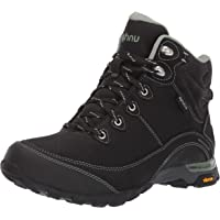 Teva Women's Sugarpine II WP Ripstop Hiking Boot, Black/Green Bay