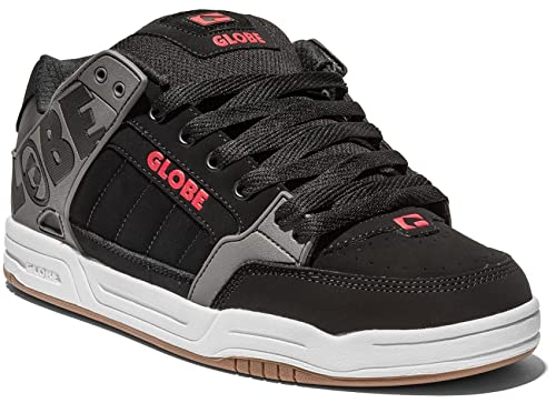 EU 38 Red Tilt y es 5 BlackCharcoal Zapatos complementos Unisex Skateboarding Adulto Zapatillas Globe de Amazon Negro Px8gpzz4n