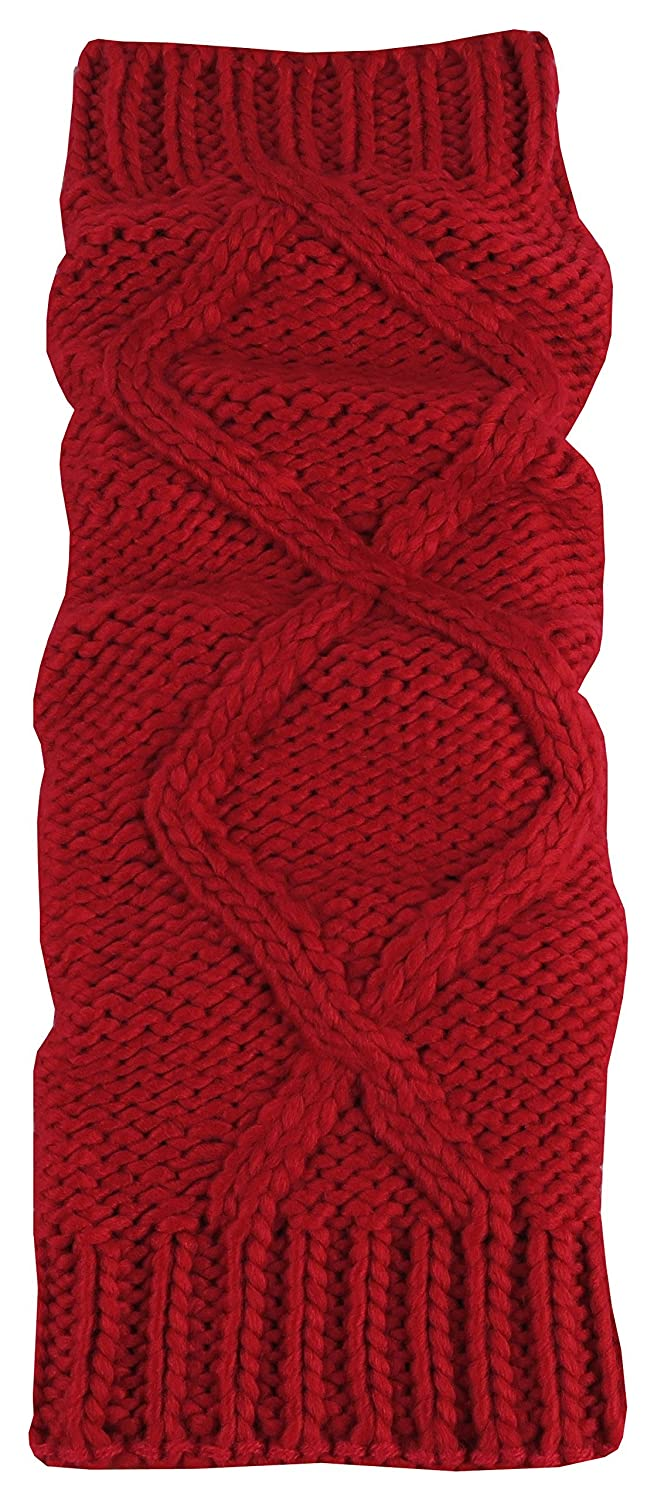 N'Ice Caps Big And Little Girls Fashion Cable Knit Leg Warmers 202-X