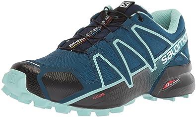 Salomon Women's Speedcross 4 W Trail Running Shoe, Poseidon