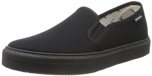 Glissement Galego Sur Toile Sol - Chaussures Adulte Unisexe, Noir (noir), 38