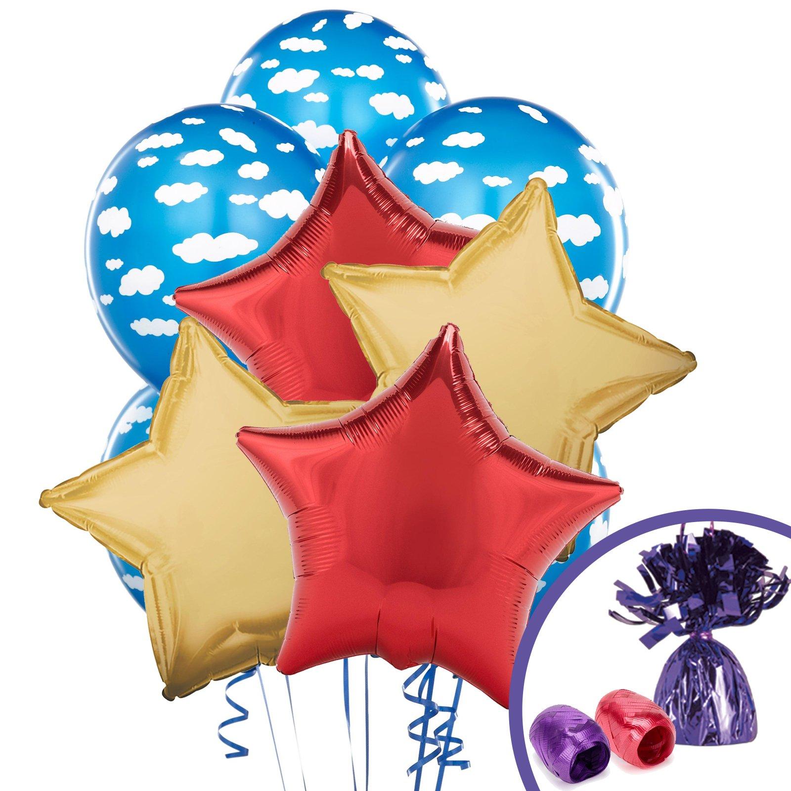 BirthdayExpress Medieval Prince Balloon Bouquet