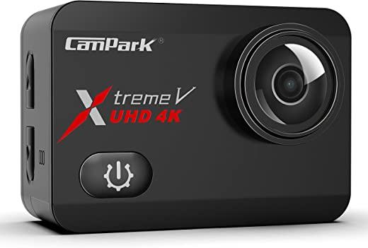 CamparkAction Camera X30 Native 4K 60fps 20MP with EIS Anti Shake Touch Screen Wi-Fi Waterproof