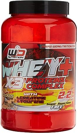 WD Nutrition - Proteina, sabor galleta - 1000 gr: Amazon.es ...