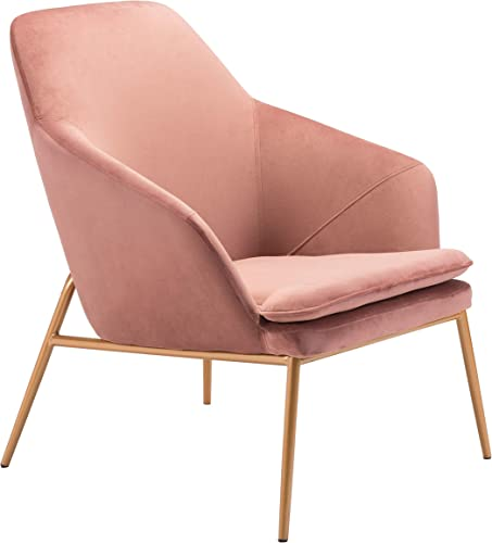 Debonair Arm Chair Pink Gold