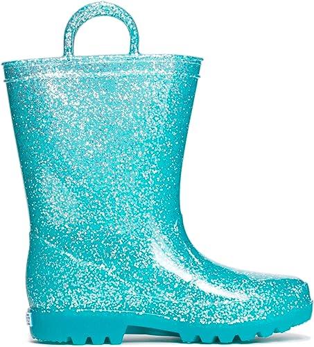 glitter rain boots for girls