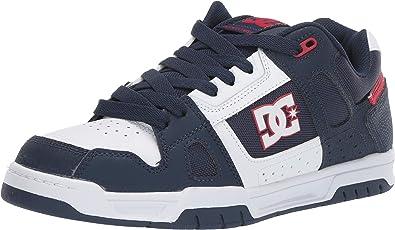 DC Shoes Stag - Zapatillas Deportivas para Hombre, Color Rojo, Talla 47 EU: Amazon.es: Zapatos y complementos