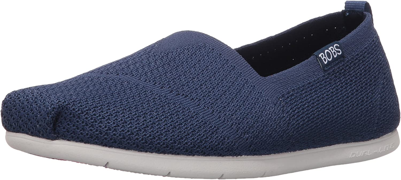 exilio lecho Turbina  Amazon.com | BOBS from Skechers Women's Plush Lite Custom Built Flat | Shoes