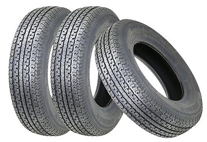 Amazon Com 3 Premium Gremax Trailer Tire St225 75r15 Radial 10pr