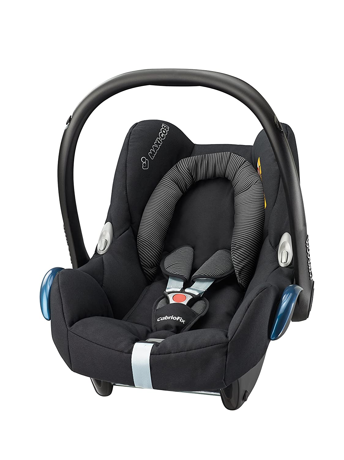 Maxi-Cosi Cabriofix Group 0+ Car Seat, Black Raven: Amazon.co.uk: Baby
