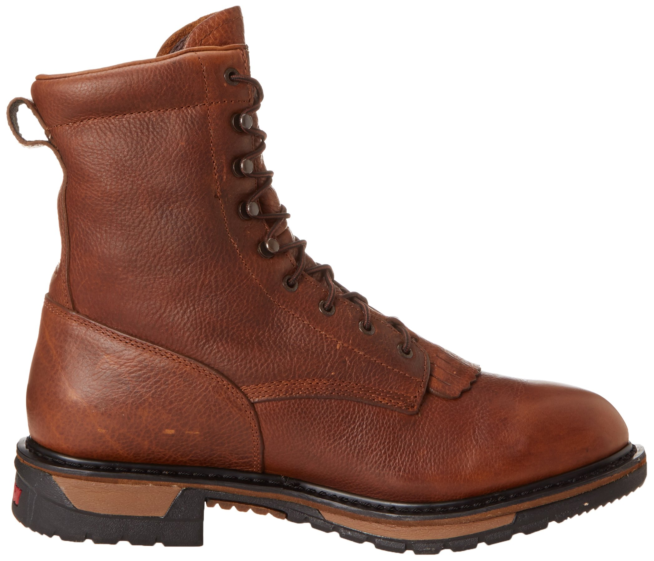 Men's Rocky 8'' EH Ride Lacer Work Boots BROWN 7.5 W by Rocky (Image #6)