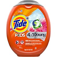 Tide Pods with Downy 73-Count Liquid Laundry Detergent Pacs