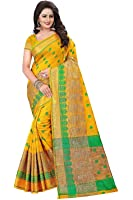 Shiroya Brothers Women's Cotton Silk Partywear New Collection Saree With Blouse Piece (party wear,wedding wear,regular wear)