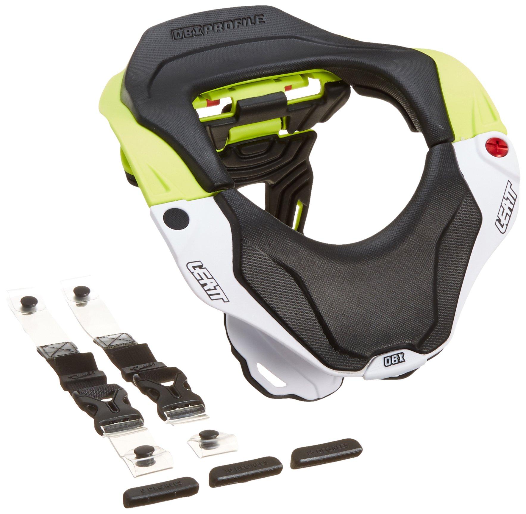 Leatt DBX 5.5 Neck Brace (Green/White, Junior)