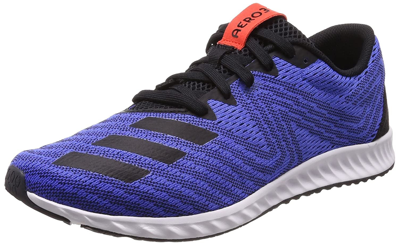 Adidas Aerobounce Pr M, Zapatillas de Deporte para Hombre 44 EU|Azul (Hi-reset Blue/Core Black/Hi-reset Red 0)