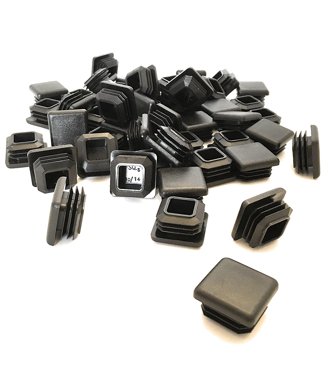 (50Pack) (10-14 GA) Square Plastic Polyethylene Plug 1