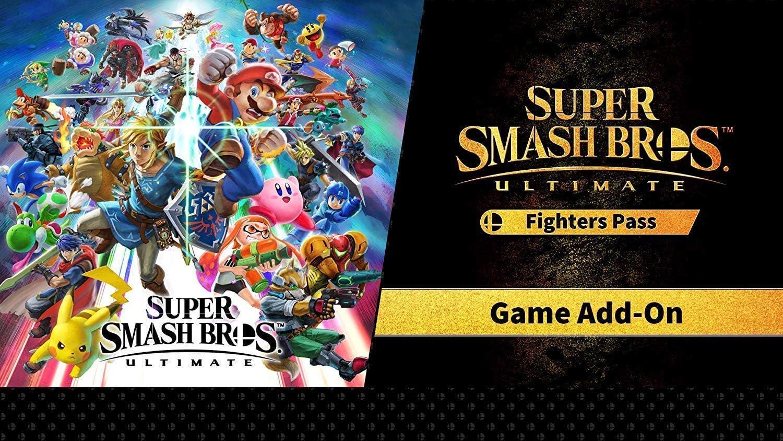 Amazon Com Super Smash Bros Ultimate Fighter Pass Dlc Nintendo