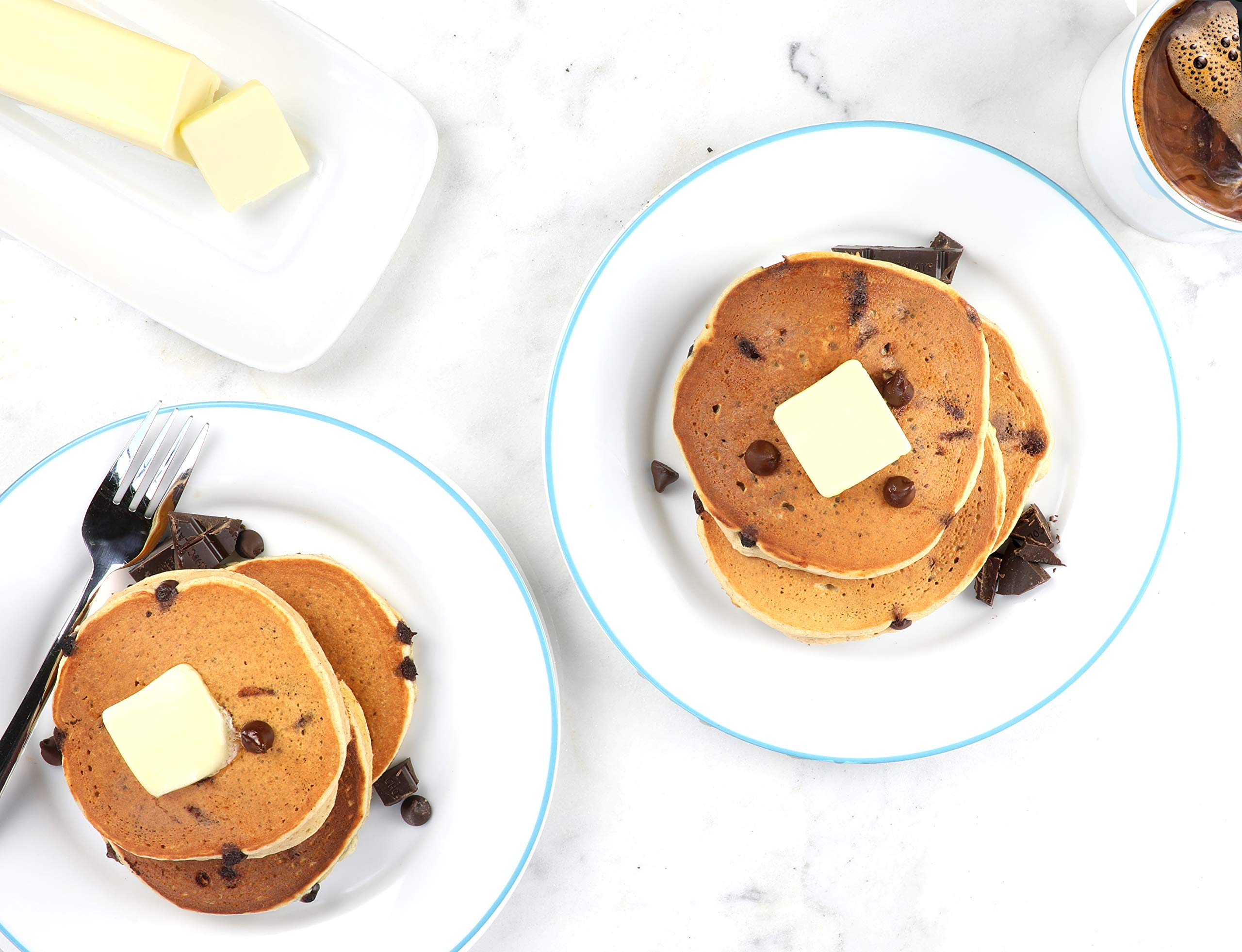 Birch Benders Keto Chocolate Chip Pancake & Waffle Mix with Almond/Coconut & Cassava Flour, 3 Count by Birch Benders (Image #5)