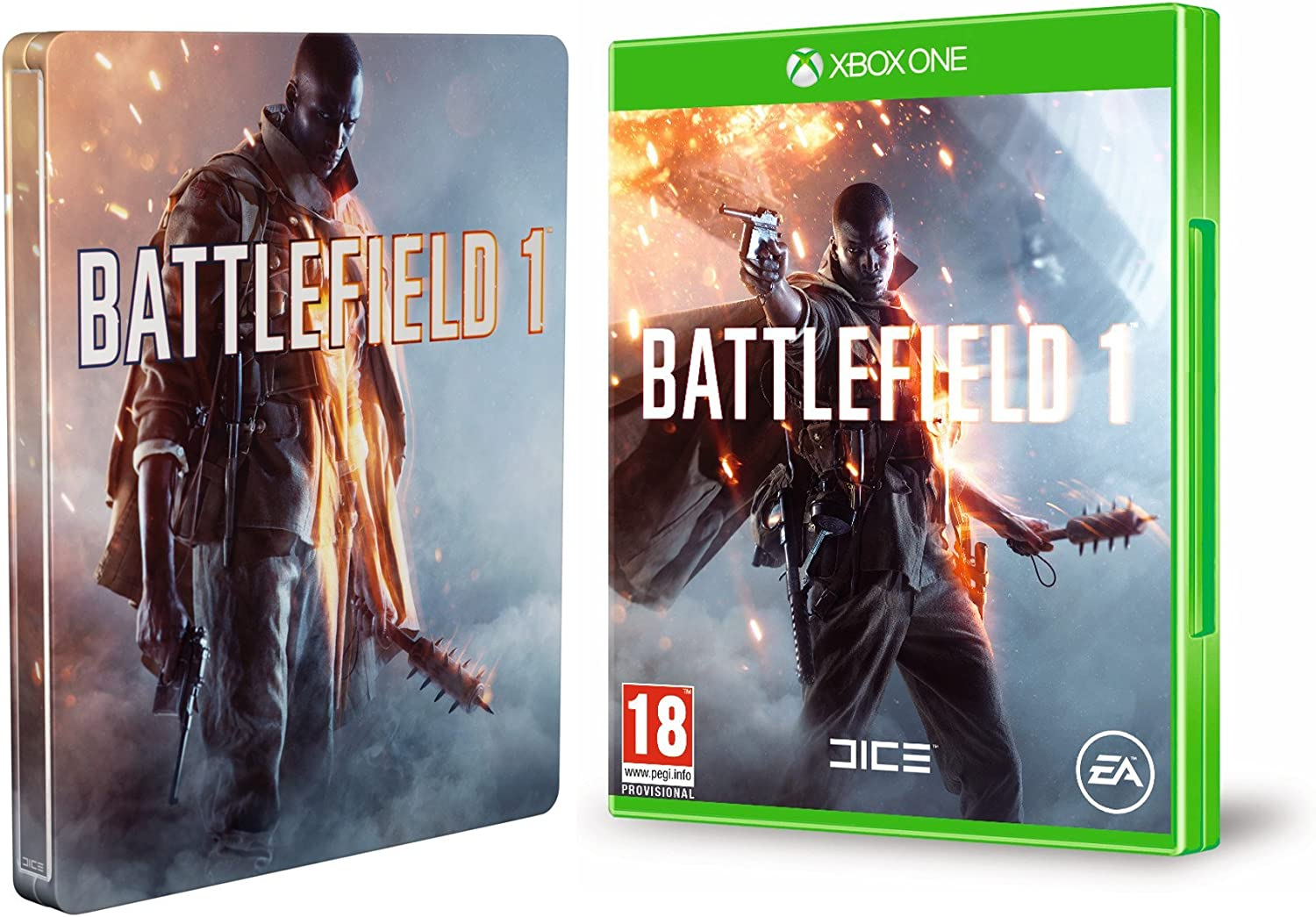 Battlefield 1 + Steelbook (Exclusivo en Amazon): Amazon.es: Videojuegos