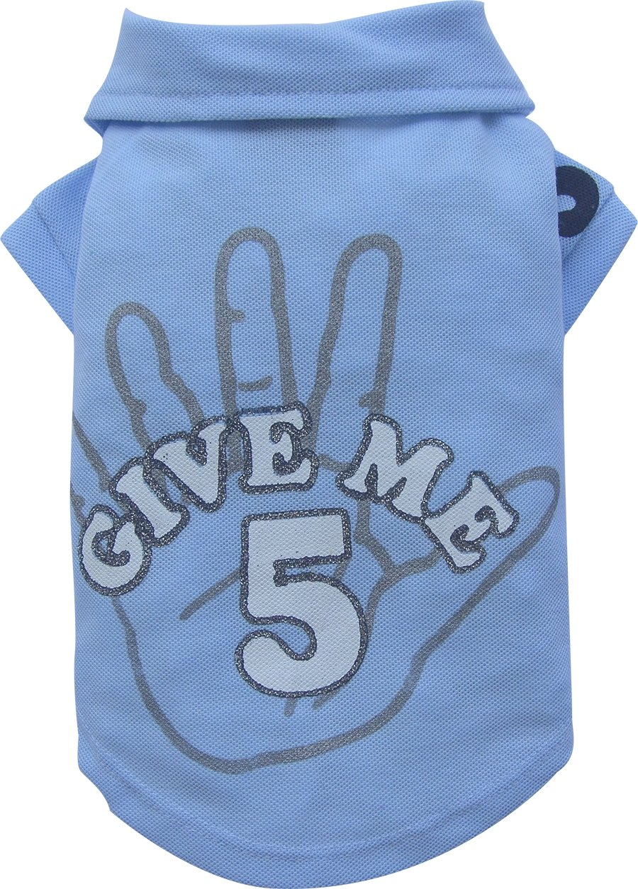 Doggy dolly Give Me 5 Polo pour Chien Bleu Taille XXL 2049