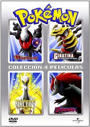 Pack Pokemon (4 Dvds): Amazon.es: Dibujos animados, Kunihiko ...