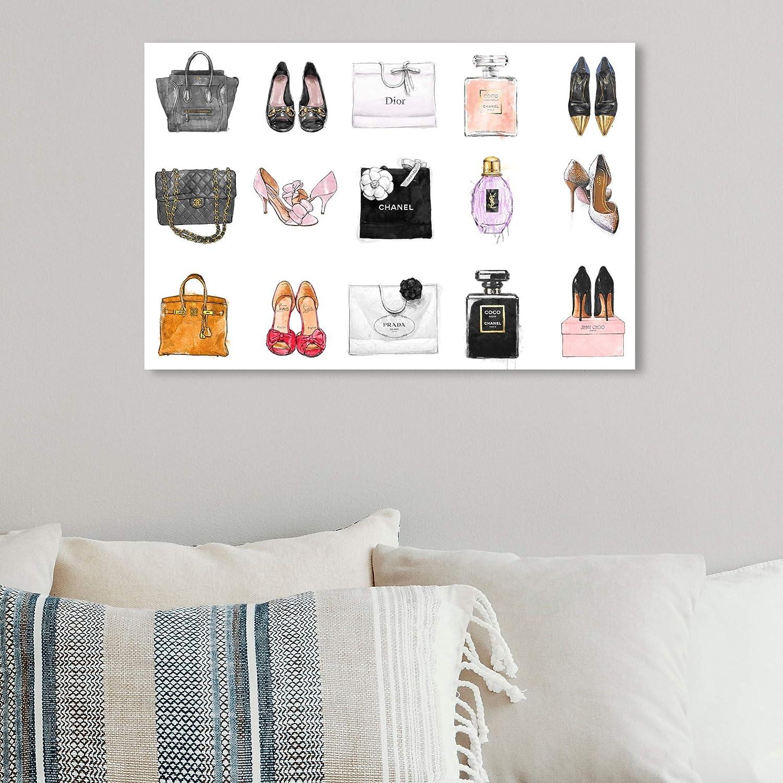 Fashion Art designer books office art wall beauty room becroom decor print