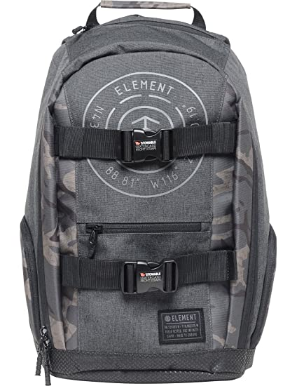 Element - Mochila casual negro Camuflaje