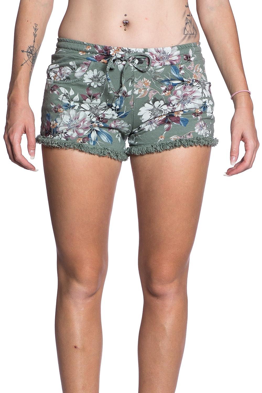 07bfaa708 Abbino IG001 Corto Pantalones para Mujeres - Hecho en ITALIA - Colores  Variados - Elegantes Casual