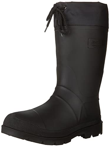 Kamik Men's Hunter Insulated Winter Boot, Black, ...