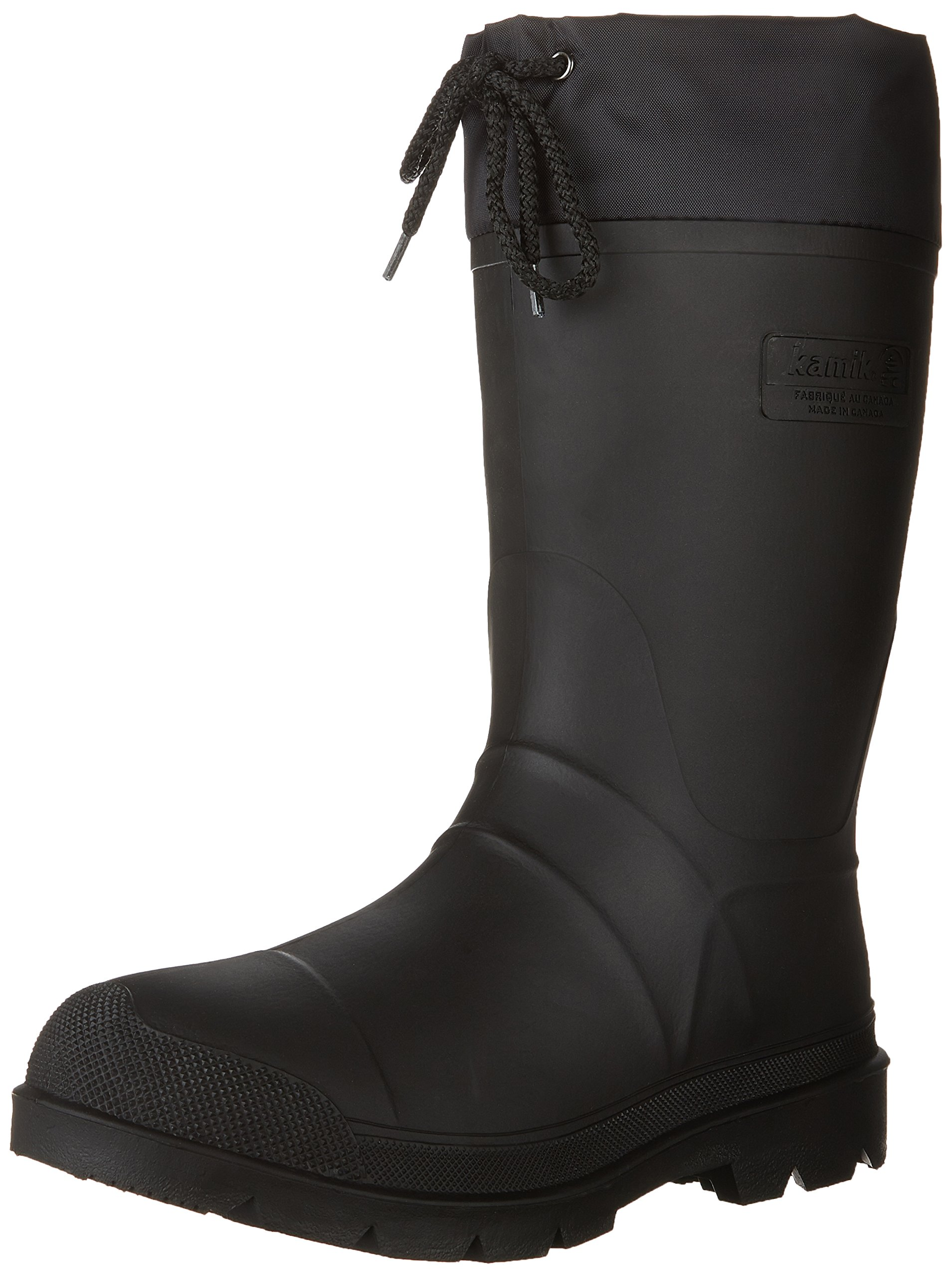 Kamik Men's Hunter Insulated Winter Boot, Black, 9 M US by Kamik