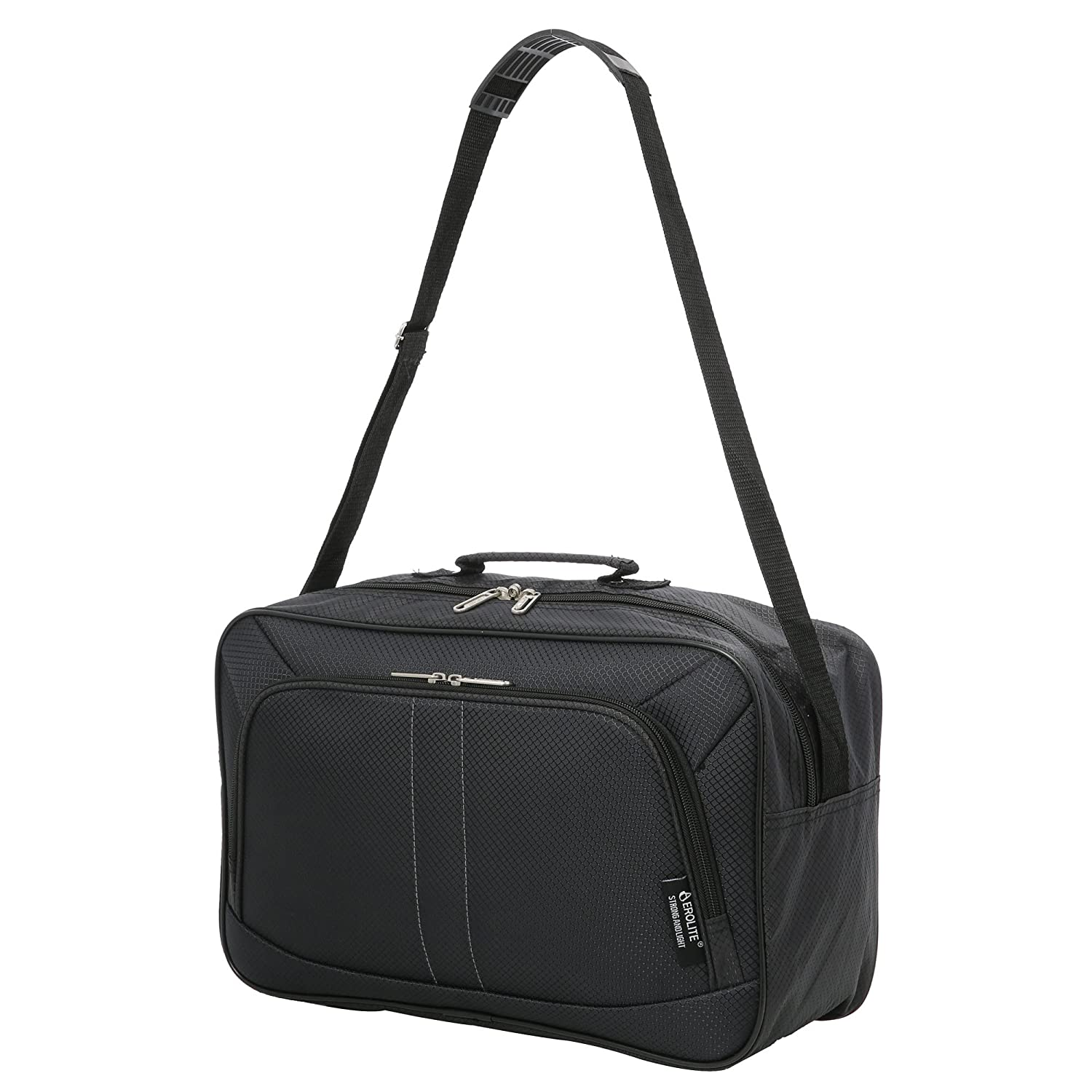 a8b76af4786 16 Inch Aerolite Carry On Hand Luggage Flight Duffle Bag, 2nd Bag or  Underseat, 19L