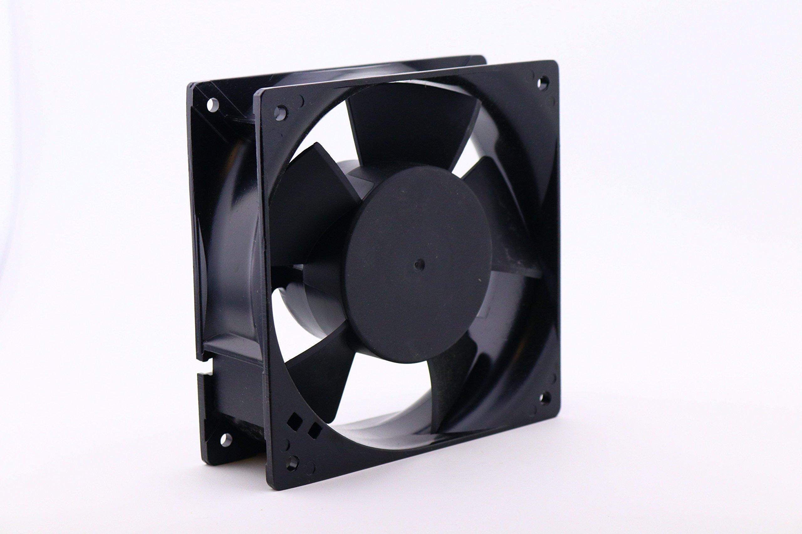 KNIGHT ELECTRONICS ORION FANS OA109AP-22-1TBR OA109 Series 3000 RPM 120 x 120 x 38 mm 110 CFM 230 V Dual Ball Bearing AC Fan - 1 item(s)