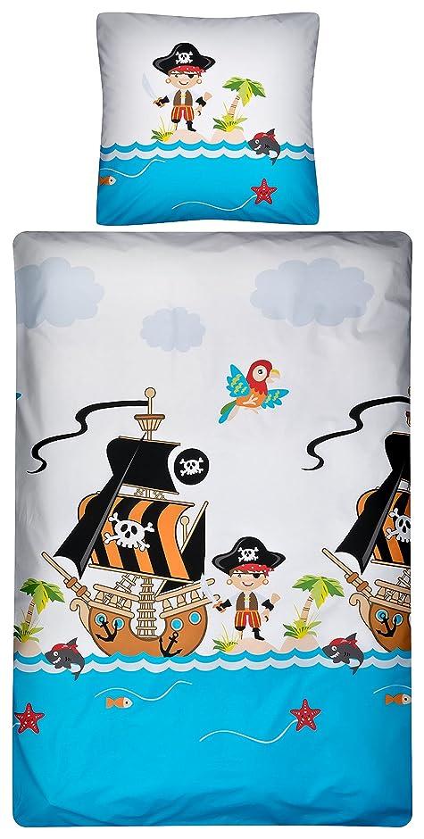 bettw sche piratenschiff my blog. Black Bedroom Furniture Sets. Home Design Ideas
