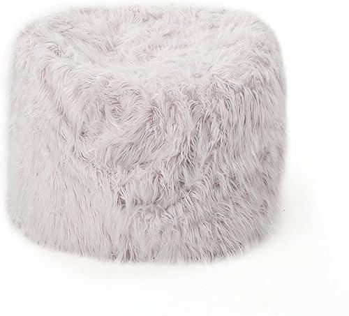 Cheap Lycus Faux Fur Bean Bag Chair Lavender bean bag chair for sale