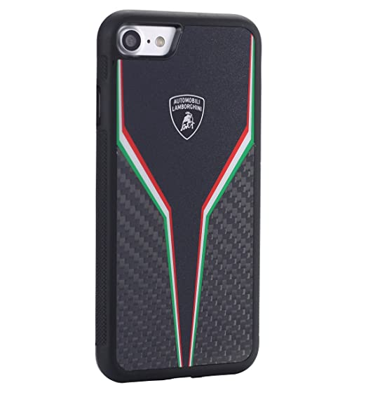 Amazon Com Lamborghini Sc D2 Carbon Fiber Back Cover Iphone 7