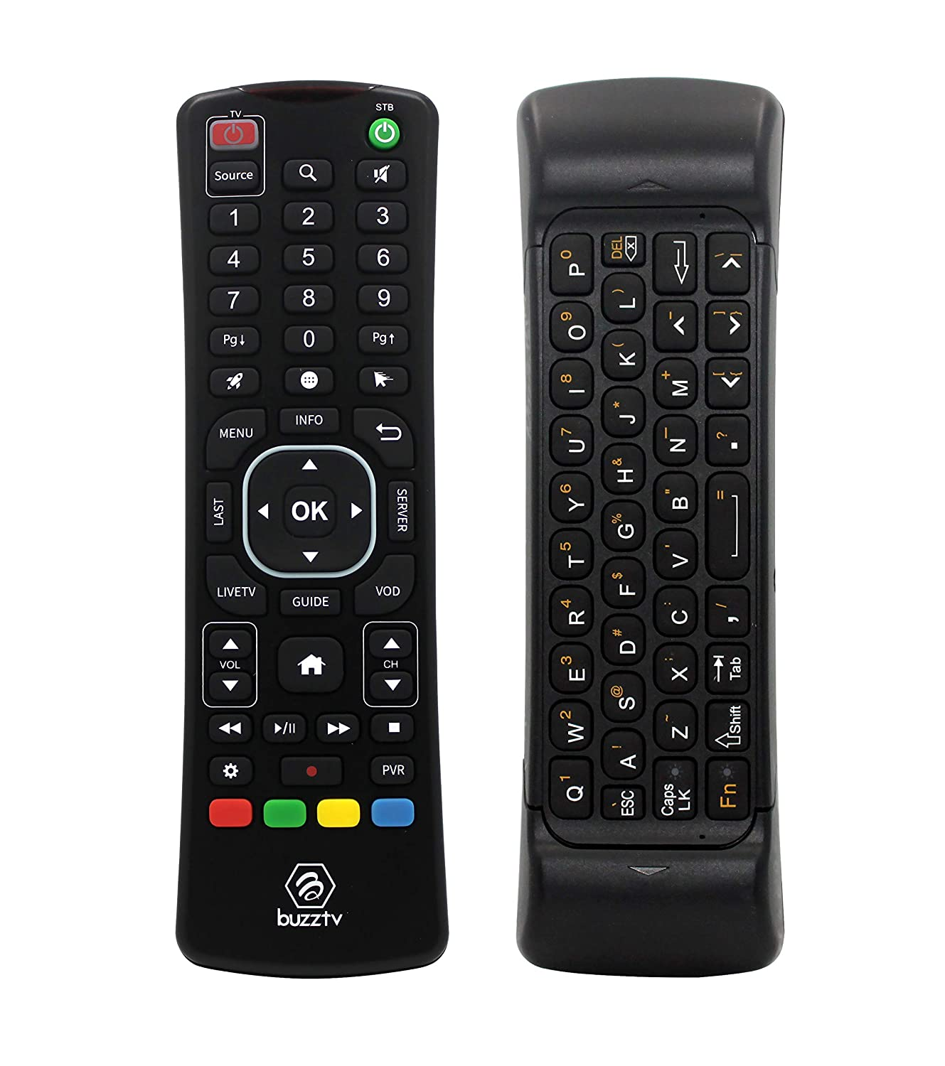 BuzzTV ARQ-100 Wireless Air Mouse Keyboard Remote for Buzz TV IPTV Android