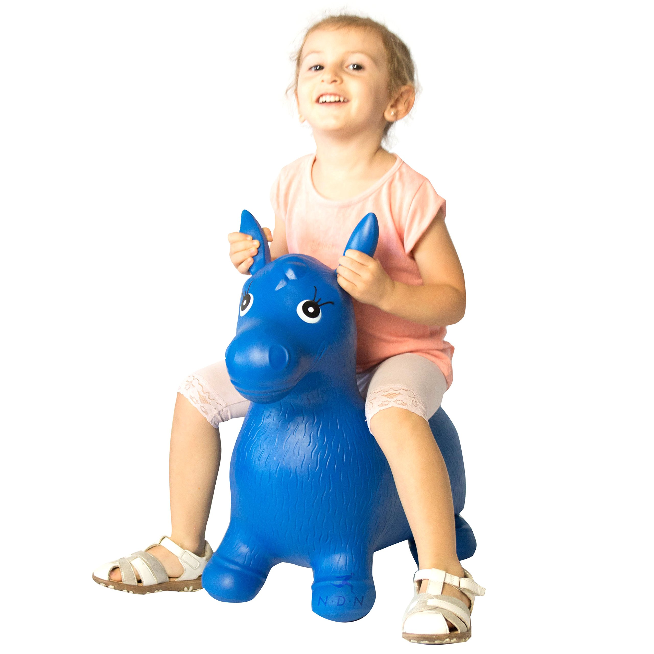 Bouncy animal, bouncy horse inflatable with pump by NDN LINE (Image #2)