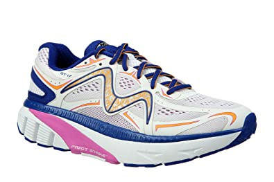 f7ffab215d36 MBT Shoes Women s GT 17 Athletic Shoe  White Purple Navy Orange 10 Medium
