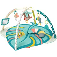Infantino 4-in-1 Twist & Fold Activity Gym & Play Mat, Tropical