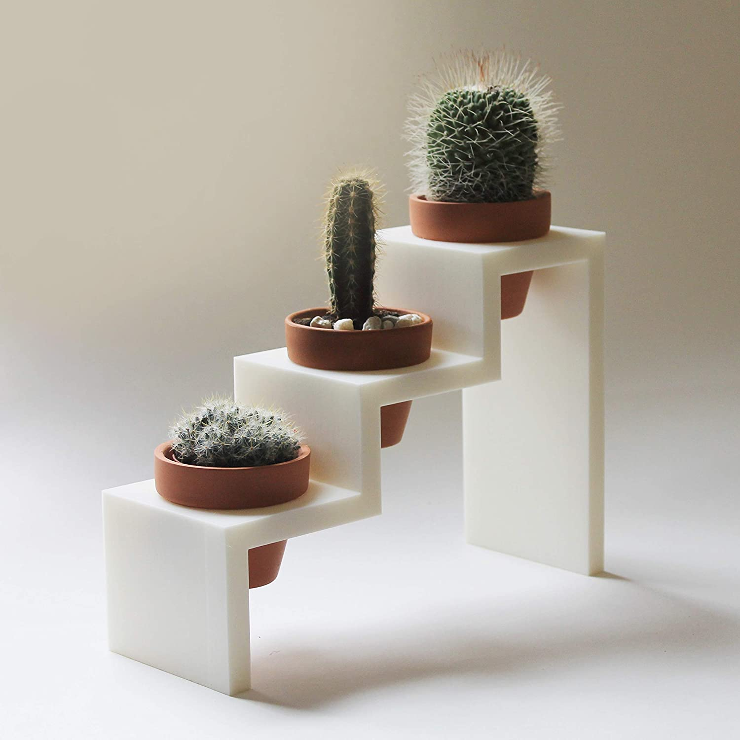 clay pot planter with stand Amazon.com: 1 Step Planter + 1 Clay Pots/Planter/Plant stand/Plant