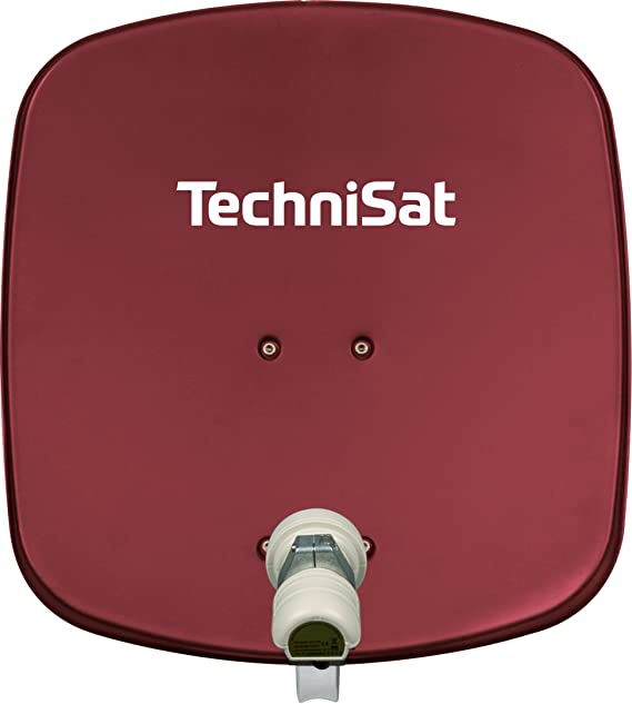 TechniSat DigiDish 45 - Antena parabólica con sistema de fijación y LNB
