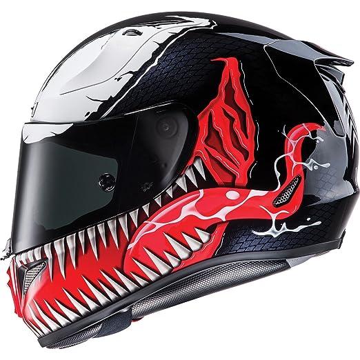 HJC Rpha 11 Venom casco de moto, R1VRL, Black White Red: Amazon.es: Deportes y aire libre