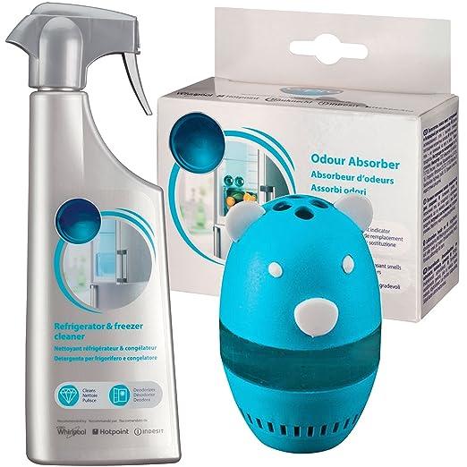 Spares2go ambientador olor amortiguador deodourant Pod + limpieza ...