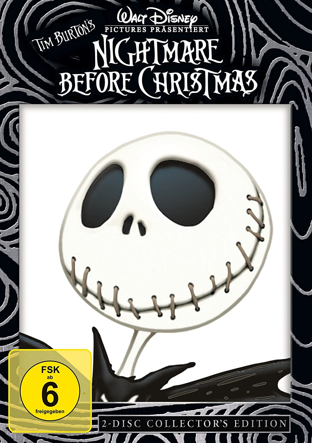 Nightmare Before Christmas Collector\'s Edition 2 DVDs: Amazon.de ...