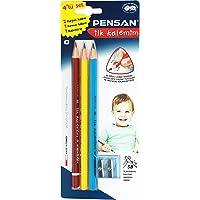 Pensan Jumbo Üçgen İlk Kalemim 4 Lü Set Blister- PE12040KL0005